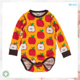Le bébé d'impression d'Apple vêtx l'enfant en bas âge Onesie d'automne d'été