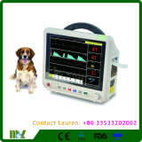 Монитор портативного Multi параметра ветеринарный терпеливейший для сбывания Mslmp24L