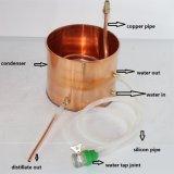 Kingsunshine 10L/3gal se dirige el kit de la elaboración de vino del alcohol ilegal del cobre del destilador del alcohol