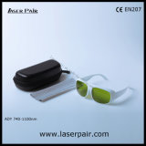 740-1100nm Dir Lb5/alta qualidade de óculos de proteção protetores de vidros de segurança do laser com frame 52