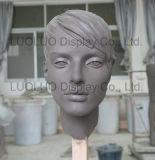 Mannequin principal fêmea realístico do ODM com cabelo 6330