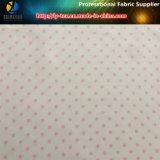 衣服のための点ポリエステルあや織りの繭紬の印刷ファブリック
