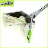Puntello facile L Mop piano di formato, cotone/Microfiber con le ricariche di nylon del Mop delle bande