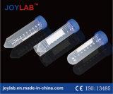 Spitzenverkaufs-konisches unteres Zentrifuge-Gefäß, 50ml, Überwurfmutter