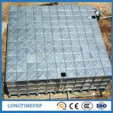 As despesas gerais de aço da galvanização cúbica do medidor 80 montam o tanque de água