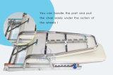 Unità mobile di aspirazione della turbina di aria della strumentazione dentale dell'unità mobile