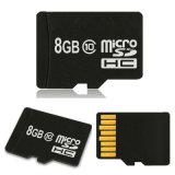 La carte SD micro de capacité totale avec le logo a personnalisé