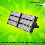 135lm/W 5 anos de garantia 100W/200W/300W/400W Holofote do túnel do LED