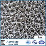 Espuma de aluminio de ignifugación de la pared de cortina de la espuma de China
