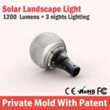 Luz solar barata inflable de Wall Street para el jardín IP65