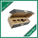 Caixa ondulada da caixa da impressão de Flexo para a embalagem da engrenagem de pesca