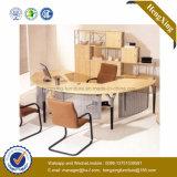 Meubles élégants L Tableau de bureau de gestionnaire de forme (NS-NW129) de bureau de conception