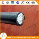 Fil duplex et câble d'A.W.G. de Xhhw 6 avec l'UL indiquée