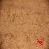 100% de tela de poliéster de gamuza para tapicería / bolsa