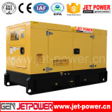 генератор 50kVA 40kw тепловозный звукоизоляционный Cummins с системой отопления масла