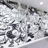 대중적인 디자인 방수 실내 장식 벽 벽화
