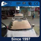 Etiquetas do indicador de carro película do indicador do metal da proteção contra o calor de 2 dobras