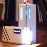 Batería colorida 13000mAh de la potencia del cargador LED del teléfono móvil del diseño de la ondulación