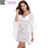Maxi Strand-Dame-beiläufiges Sommer-Kleid Ty1026