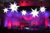 Decorazione gonfiabile della stella di illuminazione del LED per l'evento