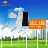 luz de calle solar integrada 18W (KS-S18)
