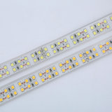 Tira flexible impermeable de la fila SMD 2835 dobles de Dimmable