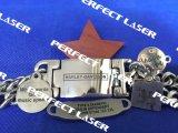 Ipg Raycusレーザーのマーカーは銅のファイバーレーザーのマーキング機械に金属をかぶせる