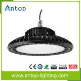 Nuovo alto indicatore luminoso della baia del UFO LED con il dissipatore di calore delle alette