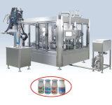 Frasco Carbonated automático da bebida da máquina de enchimento
