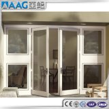 Doppelverglasung-Aluminiumflügelfenster-Tür