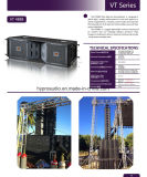 Vt4888 verdoppeln 12 im Dreiwegeling-Reihen-System, Ereignis-Zeile Reihe, Jbl Art-Audio