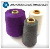 Filato filato poliestere per uso di lavoro a maglia e di tessitura