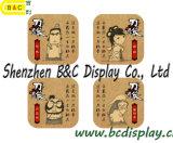 Coaster de porta fornecido pela fábrica, tapete de taça, almofada de cerveja, tapete de café com logotipo impresso e obras de arte (B & C-G111)