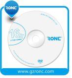 Prix concurrentiel DVD-R blanc 8X/16X un disque DVD vide de pente