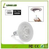 Geschmälertes LED-NENNWERT Licht mit hoher Leistung 9W 15W 20W
