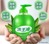 Líquido de lavado floral de la mano del desinfectante de la mano de la espuma del olor del extracto de Vera del áloe de la colada de la mano de Bioaqua 500g