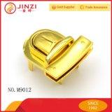 Замок давления металла красивейшей сумки цвета золота Shinning декоративный