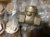 Valve de retenue de matériau en bronze avec prix Bottem