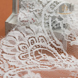 Nova chegada Chantilly Lace Border Bordado Tela francesa de renda