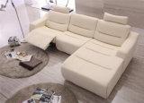 BewegungRecliner L Form-Leder-Ecken-Sofa