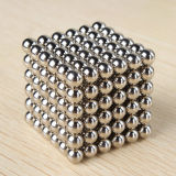 do ímã neo da esfera 216PCS de 5mm esfera magnética para o jogo dos miúdos