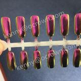Bellezza del chiodo del pigmento della perla di colore di colore rosa del pigmento dello specchio del bicromato di potassio nessun polacco del gel