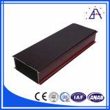 Profil d'extrusion en aluminium transféré en bois à choix multiple