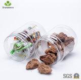 tarros sellados especia transparente del animal doméstico de la seguridad 360ml para el acondicionamiento de los alimentos
