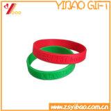 Qualitäts-Promontional kundenspezifisches Firmenzeichen-Gummihandband-Silikon-Armband
