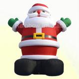 Het Huis van Kerstmis van de Kerstman van Inflatabe voor de Decoratie van het Festival van Kerstmis