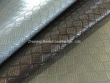 Polyester-Leinen gesponnenes dekoratives Gewebe für Sofa