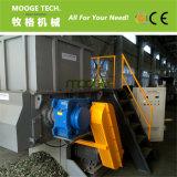Máquina plástica usada solo eje de la desfibradora del barril de los PP