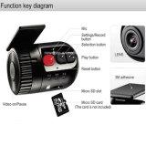 Горячая продавая камера записи кулачка черточки видеозаписывающего устройства автомобиля DVR HD 1080P миниая