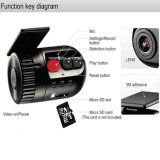 Venta caliente HD 1080P Mini DVR grabadora de vídeo Dash Cam cámara de grabación